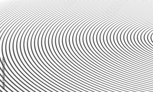 Valokuva  Background pattern 3d spirals, abstract digital illustration