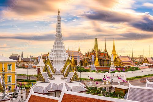 Bangkok Thailand Temples Skyline