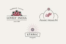Vector Asian Logo Templates