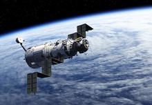 Space Station Deploys Solar Pa...