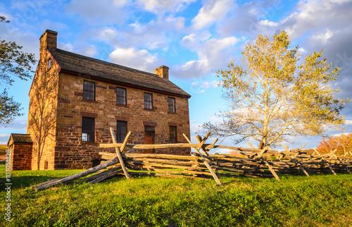 Obraz na plátně  Manassas National Battlefield Park