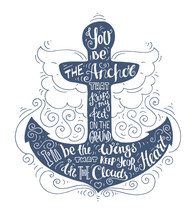 Blue Doodle Typography Marine ...