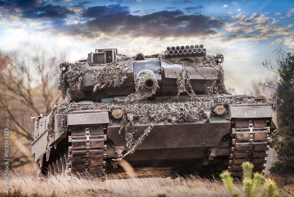 Foto  Kampfpanzer Deutschland, main battle tank germany