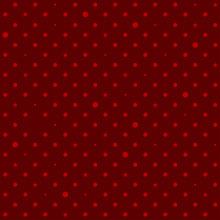 Crimson Red Star Polka Dots Ba...