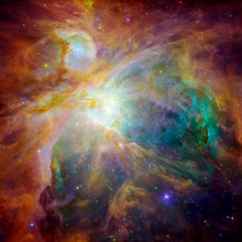 Hubble Panoramic View Of Orion...