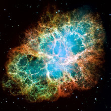 Crab Nebula Is A Remnant Of A ...
