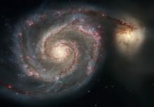 Whirlpool Galaxy. Graceful Arm...