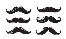 Black Mustache Icons