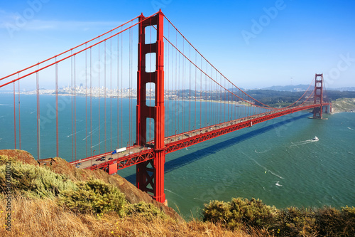 Keuken foto achterwand San Francisco Golden Gate Bridge, San Francisco, California, USA.