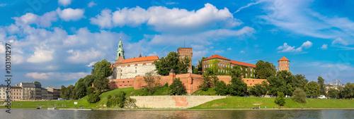mata magnetyczna Wawel castle in Kracow