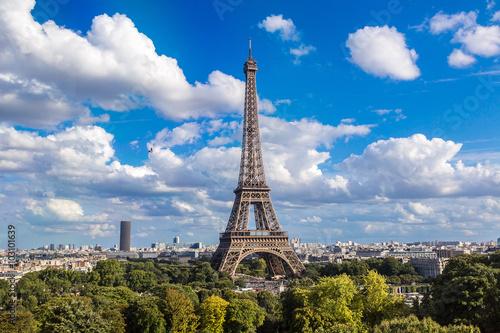Foto op Aluminium Eiffeltoren Eiffel Tower in Paris, France