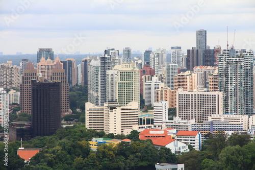 Photo  Singapore's Skyline
