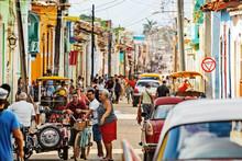 Cuba, Trinidad, Street Scene