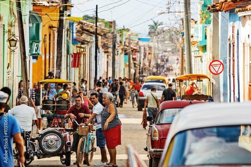 Fotografija  Cuba, Trinidad, Street Scene