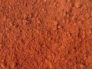 Czerwony piasek po deszczu. Maxixe, Inhambane, Mozambik, Afryka Wschodnia, Afryka Południowa