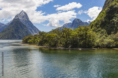 Foto op Aluminium Oceanië Milford Sound. Fiordland national park, New Zealand