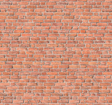 Seamless Old Red Brick Wall Texture Background, Tile - Nahtloses Muster Einer Historischen Roten Ziegelmauer. Suitable For Fotolia Images  #103258211, #103259151, #103259468 And #103336639