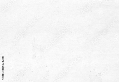 Poster Concrete Wallpaper Blank concrete wall white color for texture background