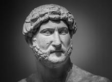Ancient Roman Sculpture Of The Emperor Hadrian