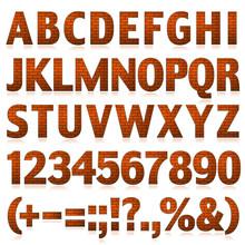 Alphabet Set 3 Brick Big Letters