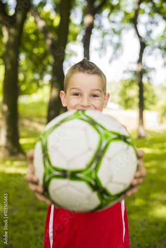 Fotografiet  Soccer Boy