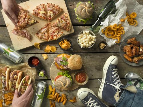 Fotografie, Obraz  real MEN-table