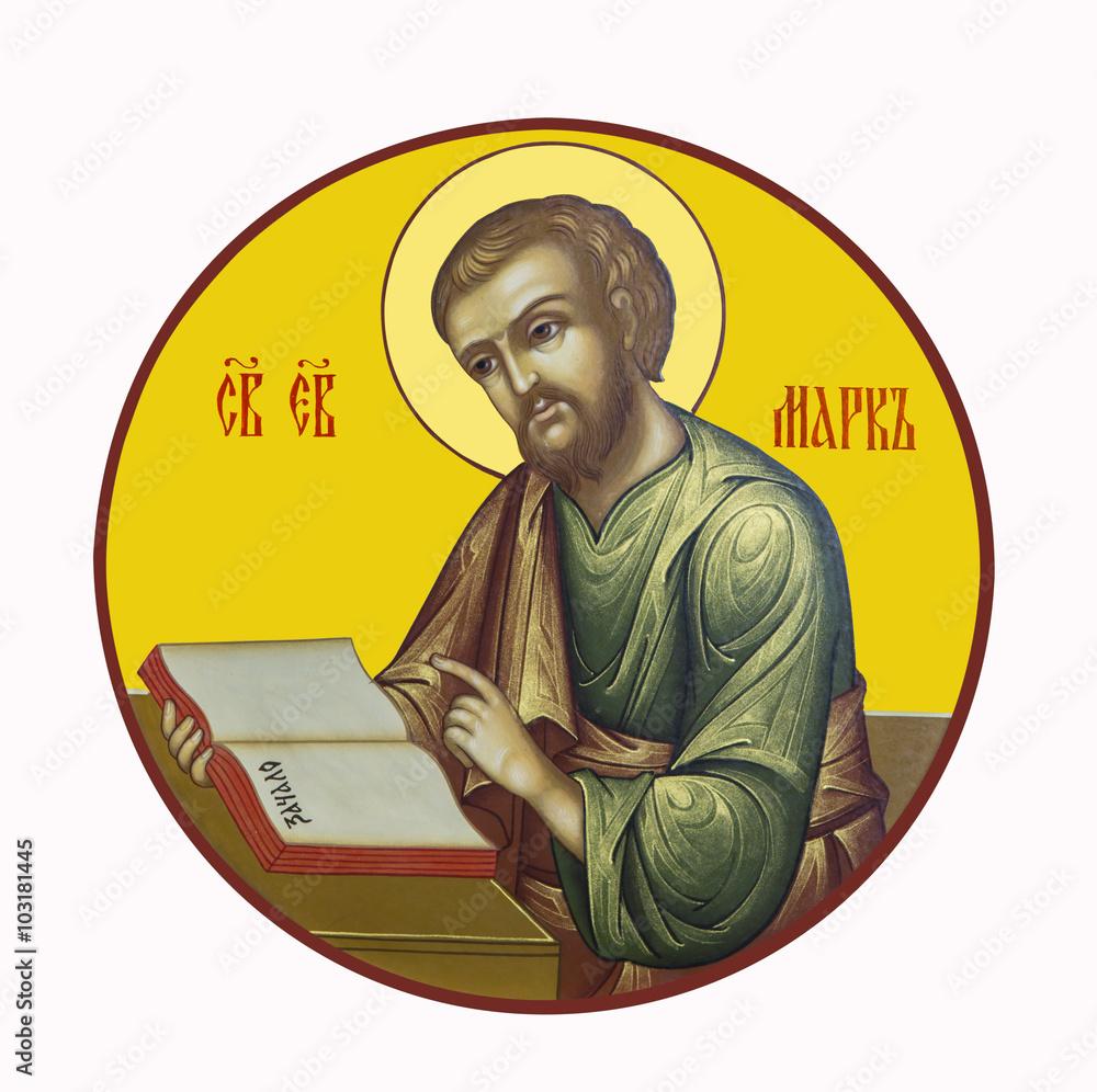 Fototapety, obrazy: Saint Mark the Evangelist