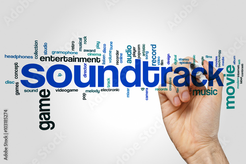 Photo  Soundtrack word cloud