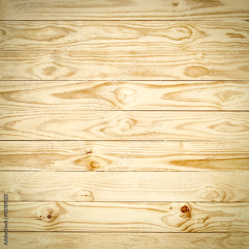 Tuinposter Hout Wood plank brown texture background