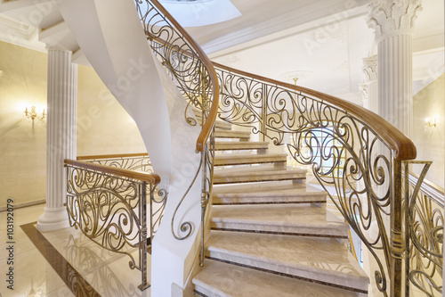 Charmant Marble Staircase
