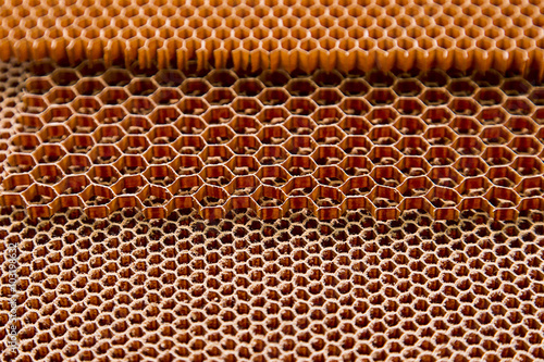 Photographie  Composite materials. honeycomb