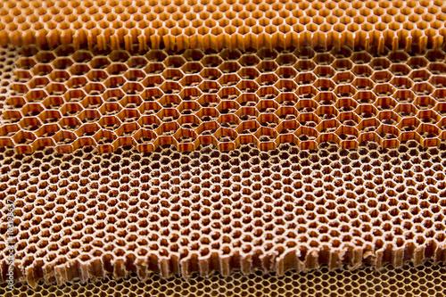 Composite materials. honeycomb Poster