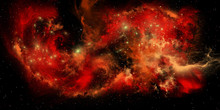 Red Nebula - A Nebula Is A Col...