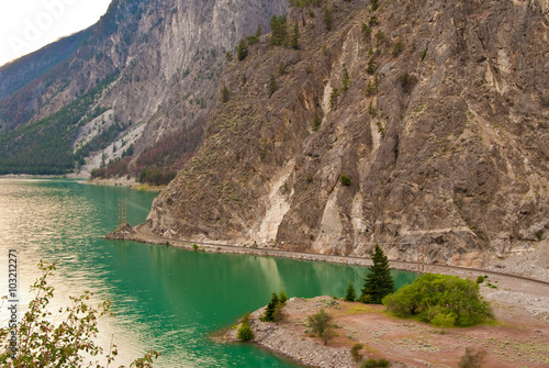 Photo  Seton Lake and Pacific Canadian Railway.
