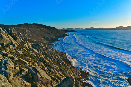 Mar y rocas Canvas Print