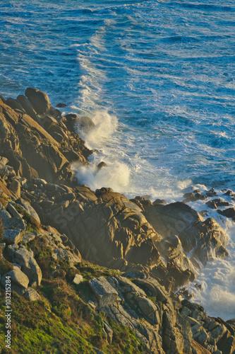 Mar y rocas Canvas Print