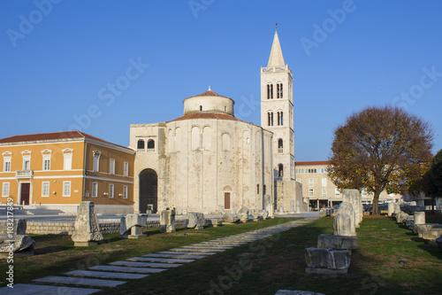 Fotografie, Obraz  Centro storico di Zadar