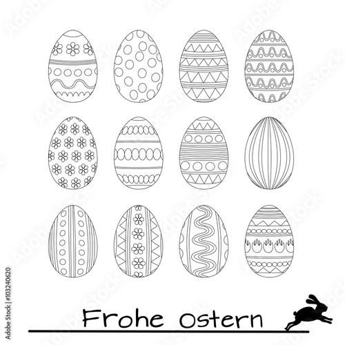 Osterei Basteln Mit Kindern Anleitung Und Vorlage Talu De