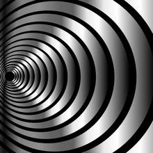 Metallic Optical Illusion