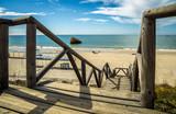 Fototapeta Fototapety z morzem do Twojej sypialni - Matalascañas in Europe in Spain