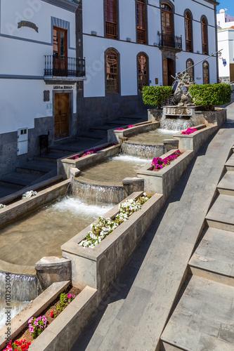 Foto op Canvas Begraafplaats Firgas, Gran Canaria