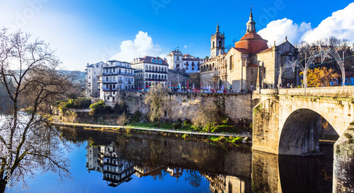 Wall Murals Northern Europe beautiful places in Portugal - Amarante