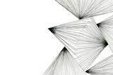 Streszczenie czarno-biały rysunek sztuki - 103269873