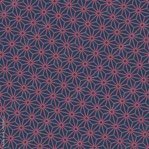 bezszwowe-ciemny-niebieski-i-burgundii-diagonalnej-japonski-wzor-wektor-asanoha