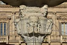 Madonna Verona Fountain In Piazza Delle Erbe