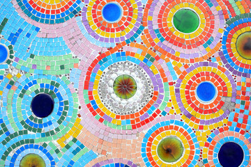 Fototapeta Colorful Mosaic tiles
