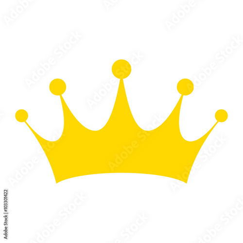 Fotografie, Obraz  Crown vector illustration