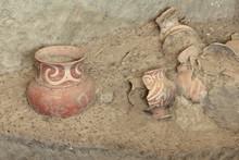 Ancient Pottery Of Ban Chiang, Udon Thani Thailand