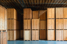 Clean Storage Warehouse With C...