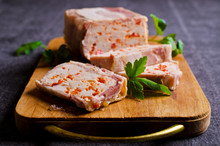 Meat Terrine With Bacon